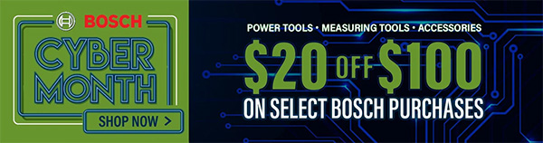 International Tool Holiday 2020 Bosch Coupon