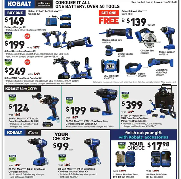 Lowes Black Friday 2020 Tool Deals Page 17