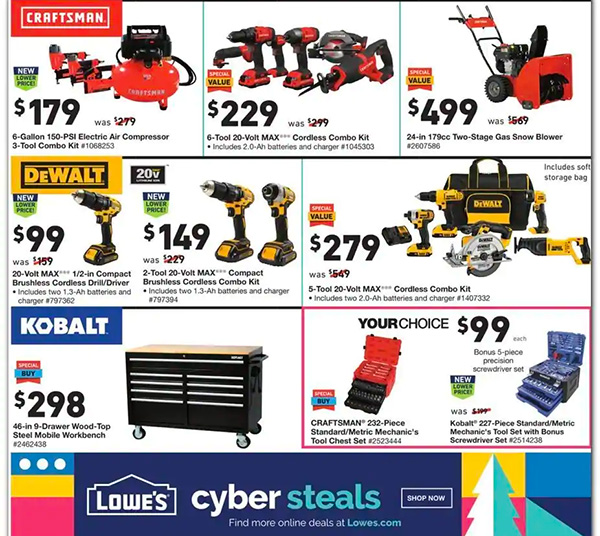 Lowes Black Friday 2020 Tool Deals Page 2