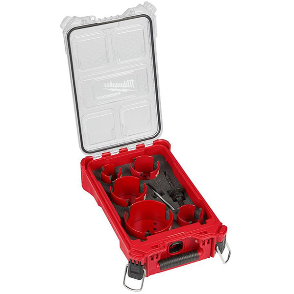 Milwaukee 49-56-9295 BIG HAWG Carbide Hole Saw Kit with Packout Case