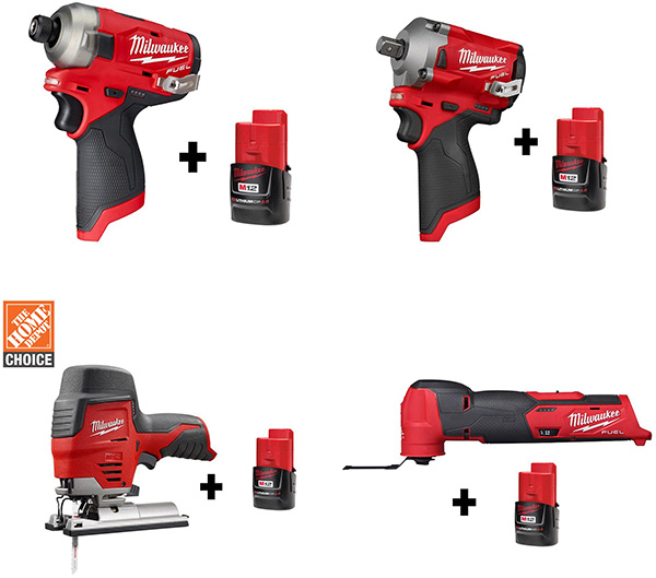 Milwaukee M12 Cordless Power Tool Deals
