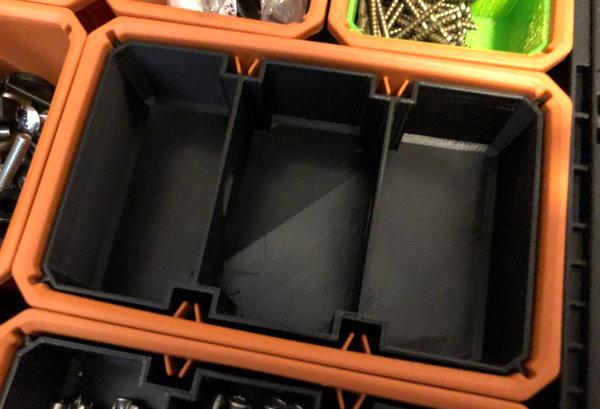 Ridgid Pro Gear Organizer Large Nesting Cups Remix