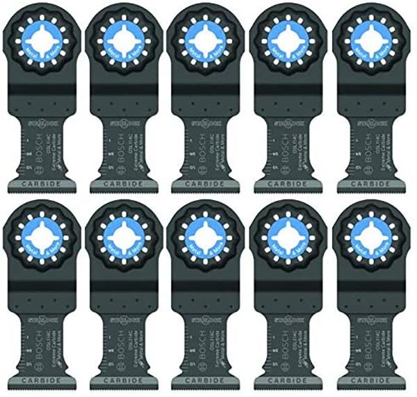 Bosch StarLock Oscillating Multi-Tool Blades 10-Pack