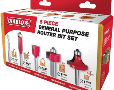 Diablo Router Bit 5pc Set Deal