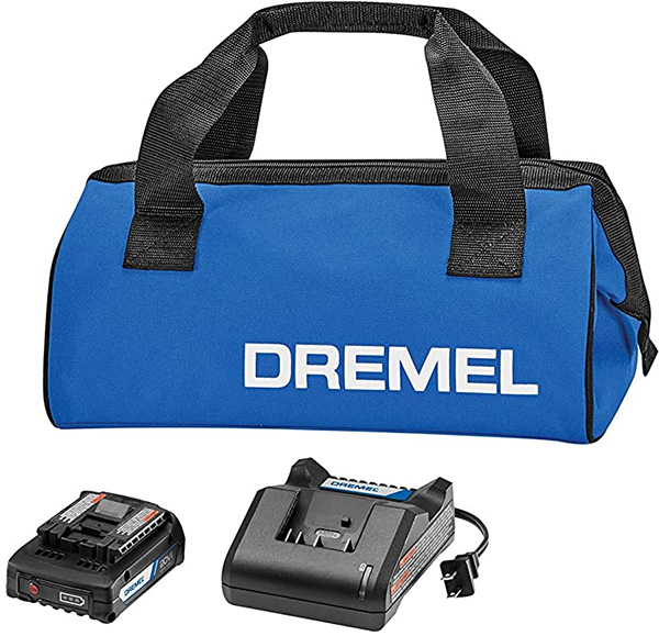 Dremel 20V Max Cordless Charger and Battery