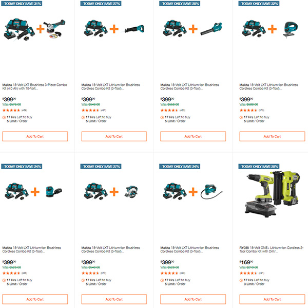 Home Depot Tool Deals of the Day 12-14-2020 Page 2