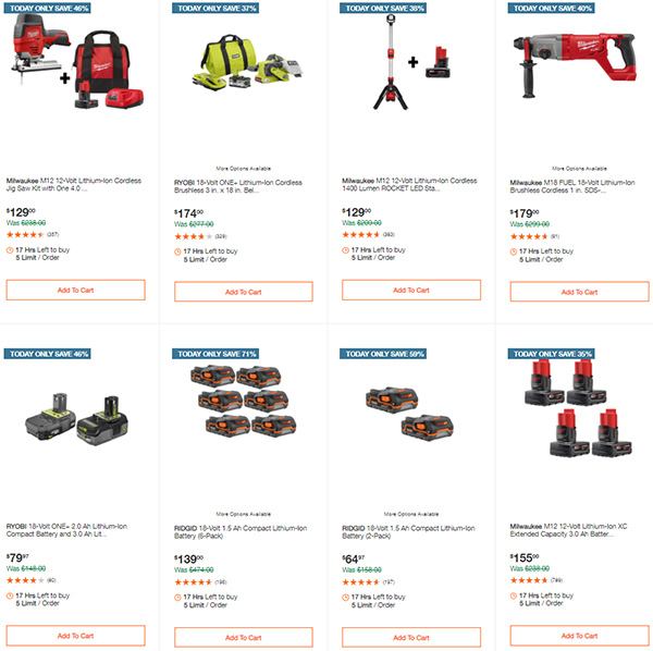 Home Depot Tool Deals of the Day 12-14-2020 Page 6