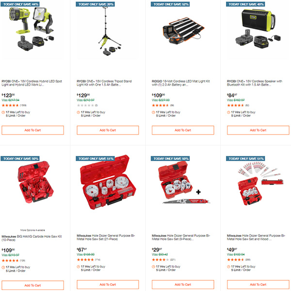 Home Depot Tool Deals of the Day 12-14-2020 Page 9
