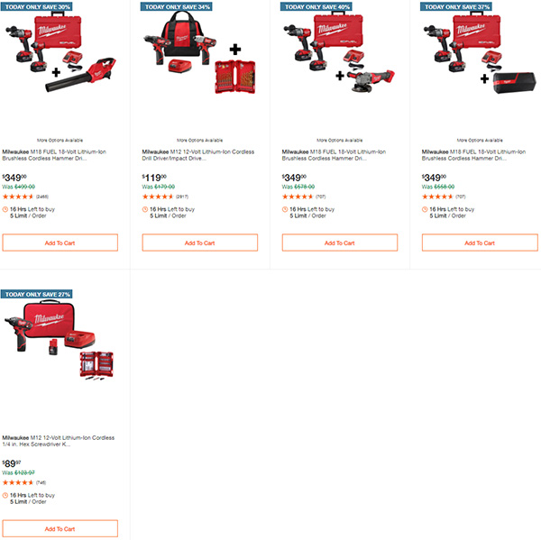 Home Depot Tool Deals of the Day 12-28-20 Page 3