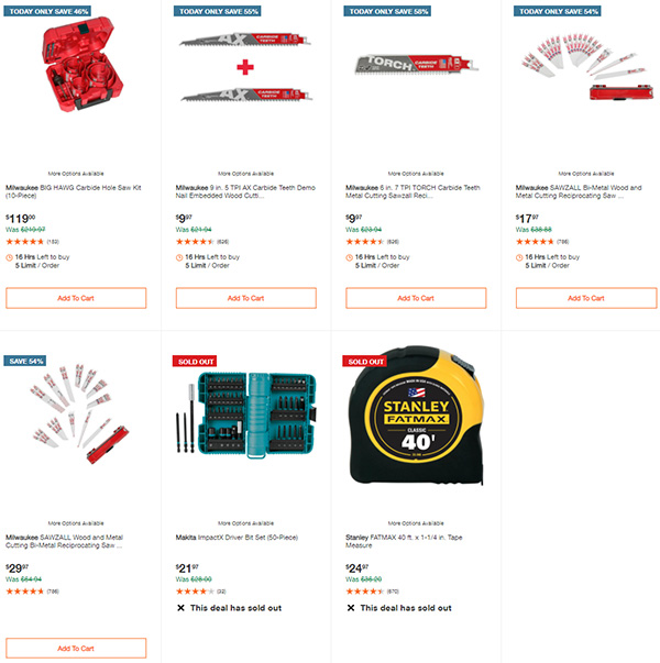 Home Depot Tool Deals of the Day 12-28-20 Page 9