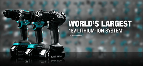 Makita 18V Largest Cordless Power Tool System 2021