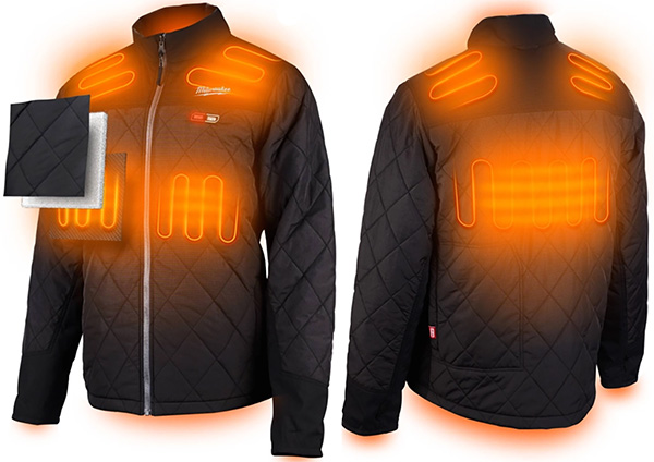 Milwaukee M12 Axis Jacket Heating Zones