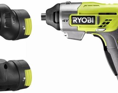 Ryobi 4V Modular Head Cordless Screwdriver