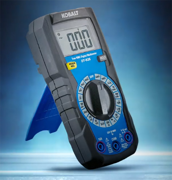 Kobalt Digital Multimeter Manual Ranging at Lowes