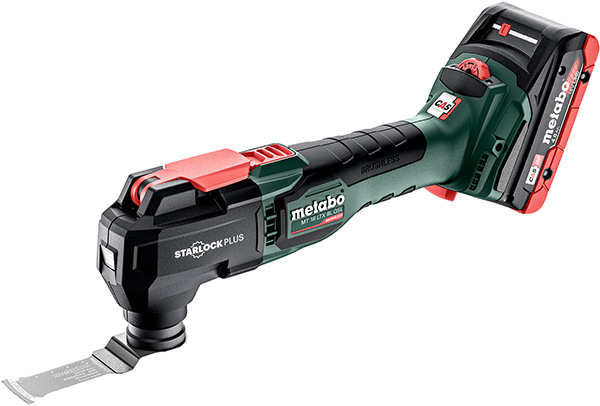 Metabo MT 18 LTX BL QSL Cordless Oscillating Multi-Tool with 4Ah Battery