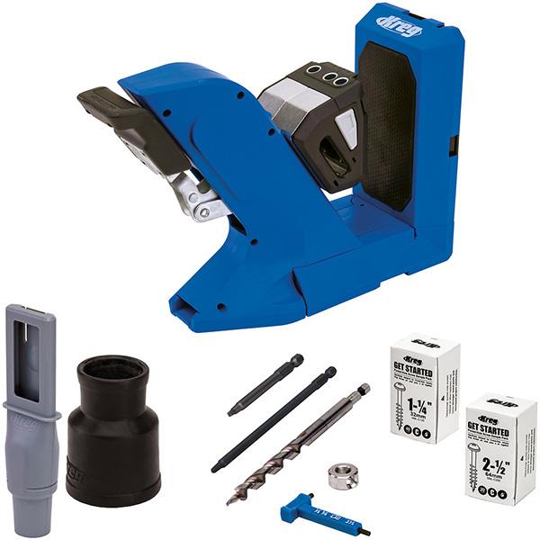 Kreg 720 Pocket Hole Drilling Jig Kit Contents