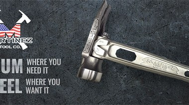Martinez Tools Hammers Banner Image
