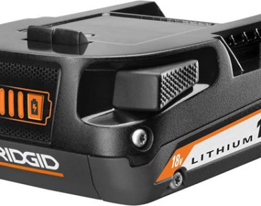 Ridgid 18V Compact Battery Redesign 2021