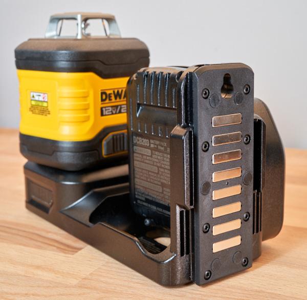 Dewalt 20V Max 3x360 Green Line Laser Magnetic Mounting