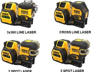 Dewalt 20V Max Cordless Green Laser Levels