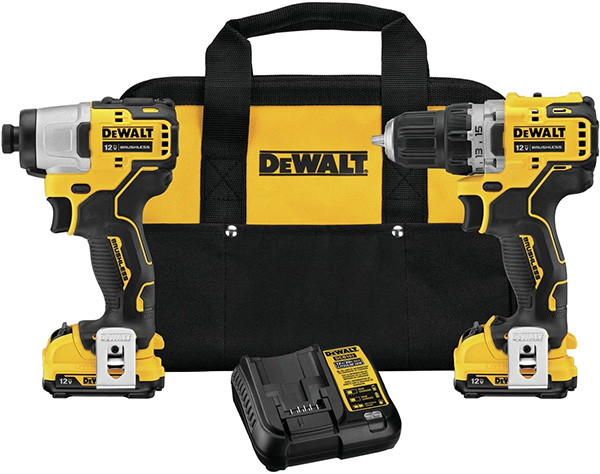 Dewalt DCK221F2 12V Max Xtreme Cordless Power Tool Combo Kit