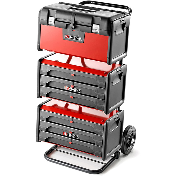 Facom Tool Boxes on Hand Truck