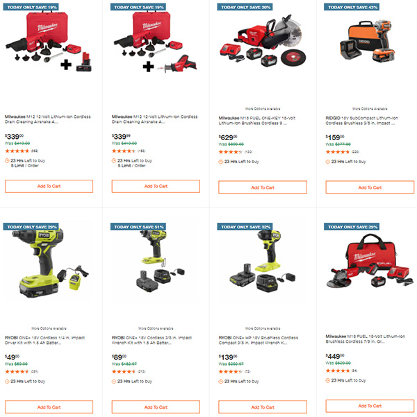 Home Depot Tool Deals of the Day 3-22-21 Page 2