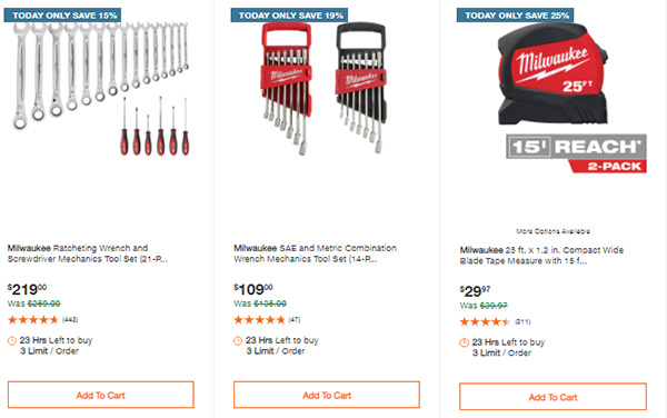 Home Depot Tool Deals of the Day 3-22-21 Page 4