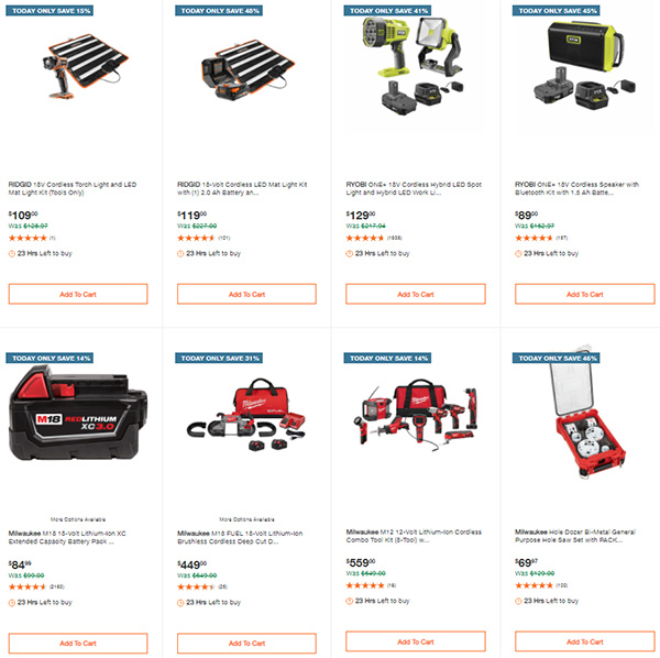Home Depot Tool Deals of the Day 3-22-21 Page 5
