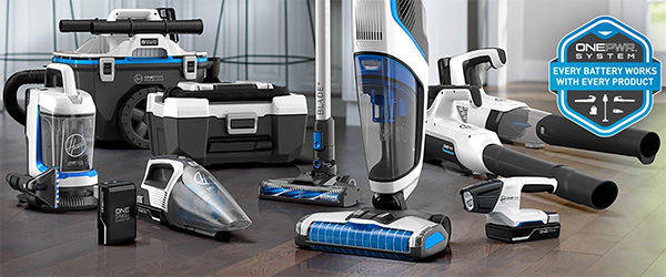 Hoover ONEPWR Cordless Vacuums and Blowers
