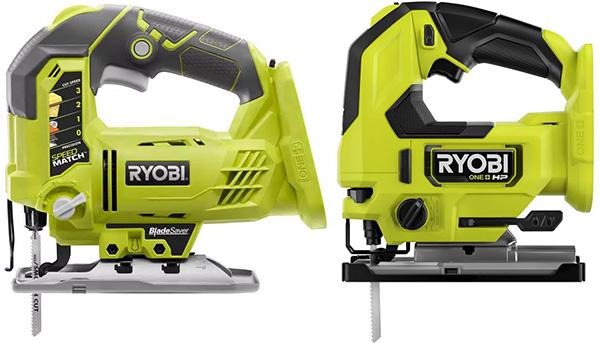 Ryobi 18V and HP Cordless Jig Saws Compared
