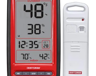 Craftsman Digital Thermometer Weather Station