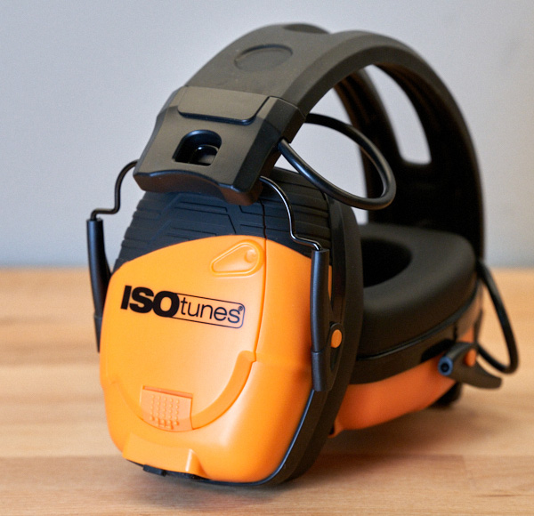 Isotunes Link Earmuffs Side View
