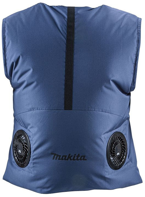 Makita FV214DZ Cordless Fan Vest Blue Color Rear
