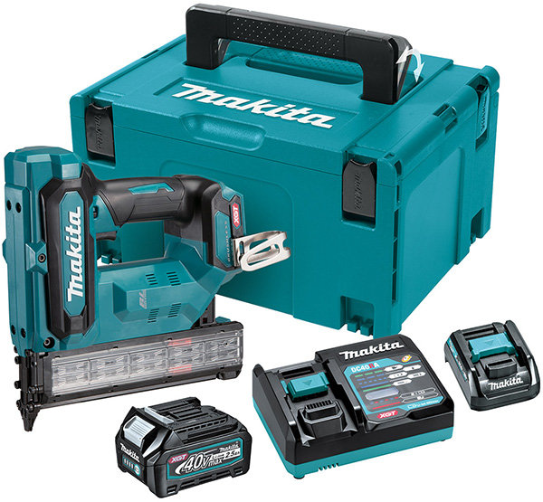 Makita XGT 40V Max Cordless Brad Nailer Kit