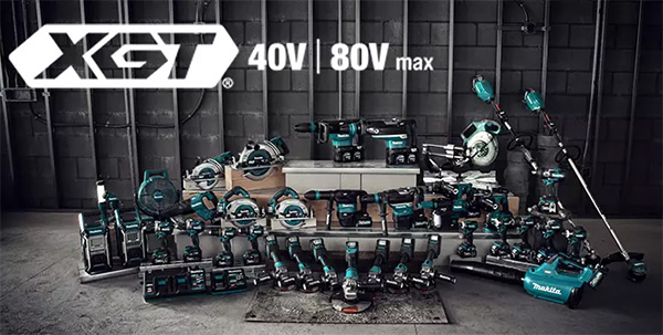 Makita XGT 40V and 80V Max Cordless Power Tool Launch USA 2021