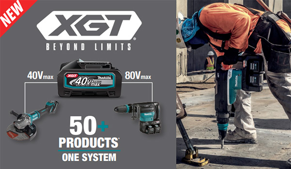 Makita XGT Product Lineup 2021