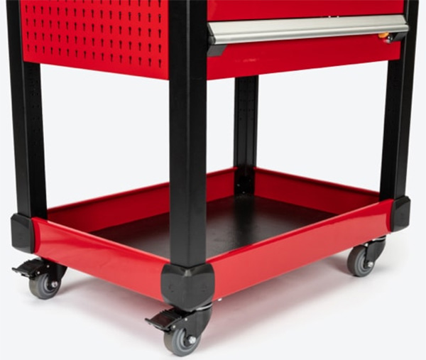 Tekton Tool Cart Bottom Section and Casters
