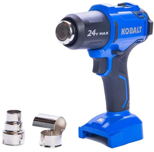 Kobalt 24V Max Cordless Heat Gun with Accessories