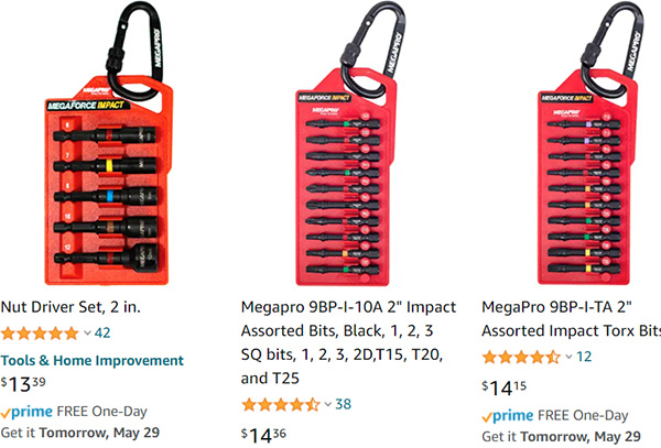 Megapro Impact Bits