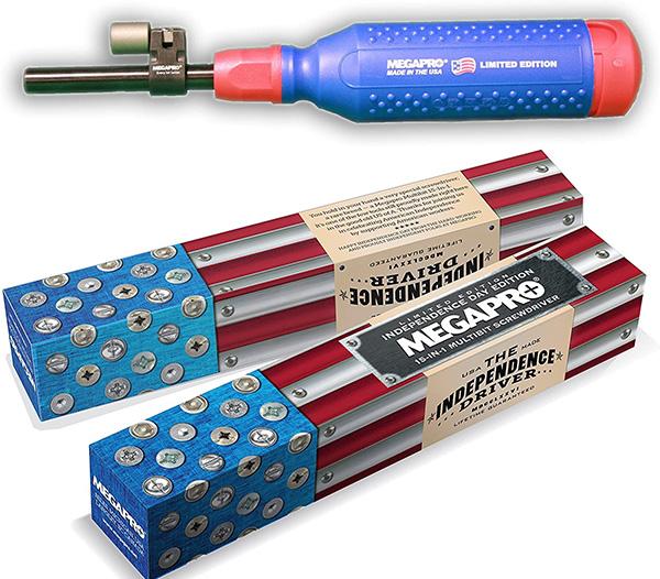 Megapro Patriotic Screwdriver