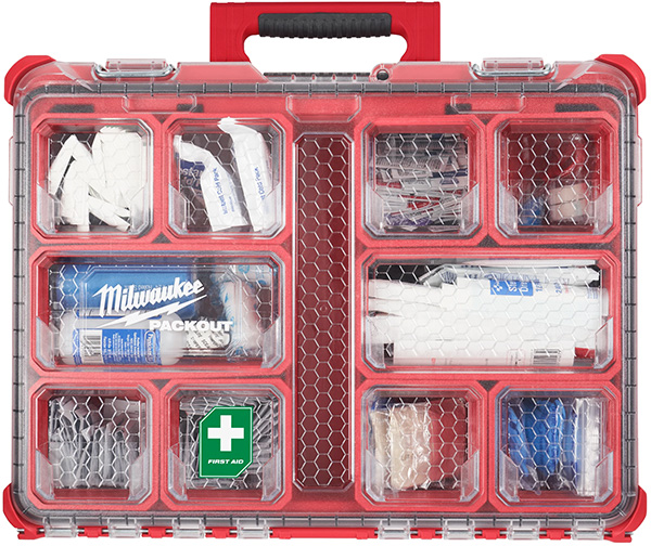 Milwaukee Packout First Aid Kit Large Organizer
