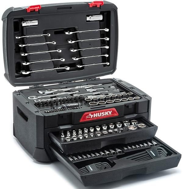 Husky 230pc Mechanics Tool Set
