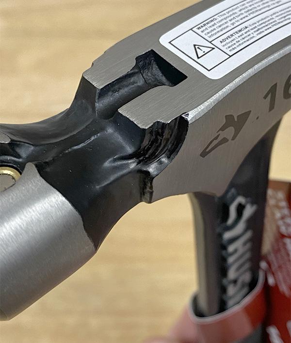 Husky Steel Hammer Top
