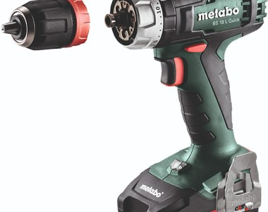 Metabo 18V Cordless Drill Driver Kit with Quick Chuck Removed