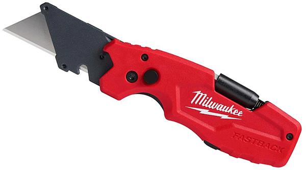 Milwaukee FastBack 6-in-1 Folding Utility Knife 48-22-1505