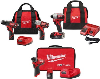Milwaukee M12 M18 Cordless Impact Driver Special Buys