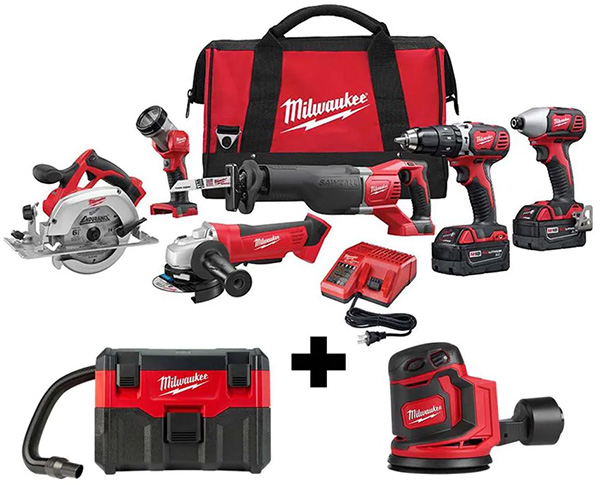 Milwaukee M18 Fathers Day 2021 Home Depot 6pc Cordless Combo Kit Deal