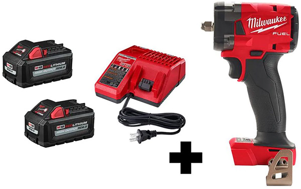 Milwaukee M18 Fuel Compact Impact Wrench Fathers Day 2021 Special Buy Kit Deal