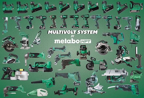 MultiVolt Family from Metabo HPT 2021